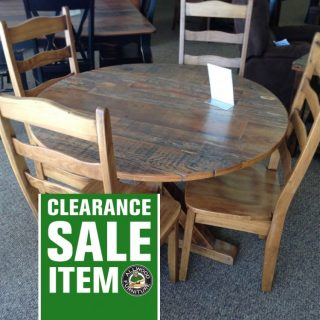 48″ Round Table @ Baton Rouge BR-152 In Stock