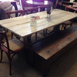 Cajun Timber Table @ BR Store RTBR-38 Red Tag SOLD