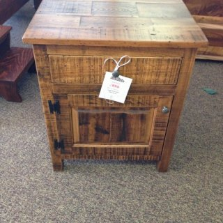 Rustic Night Stand @ Baton Rouge BR-129 In Stock
