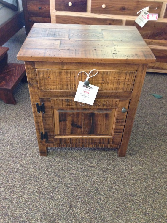 Rustic Night Stand Baton Rouge BR 129 In Stock ALL