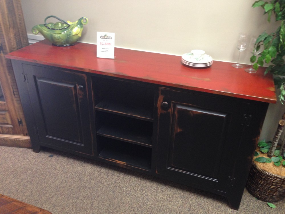 Shaker Server Baton Rouge Br 140 In Stock All Wood Furniture