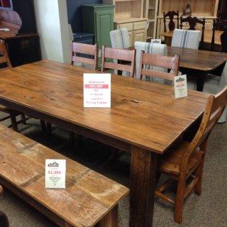 Beam Leg Table  @ Baton Rouge BR-142 SOLD