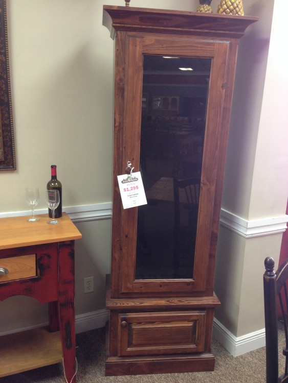 6 Gun Cabinet Baton Rouge Br 148 In Stock All Wood