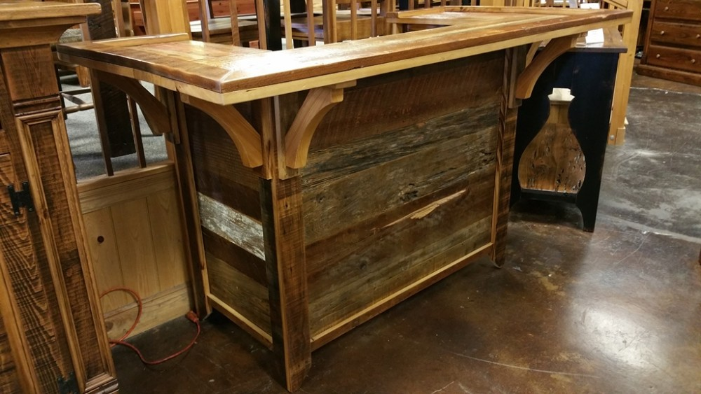 Old Barnwood Bar Ul Store Ul 116 Sold All Wood Furniture
