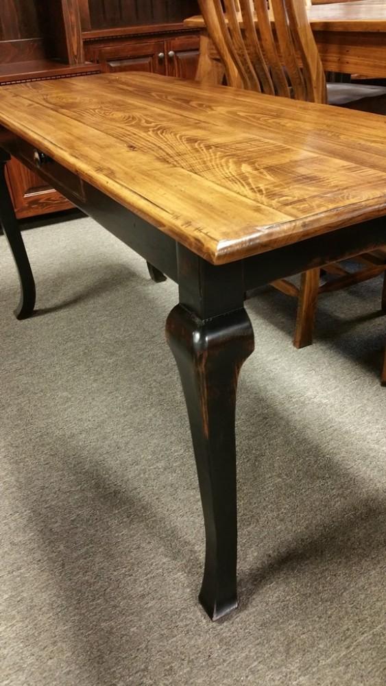 Cabriole Desk Ul Store Ul 112 In Stock All Wood Furniture