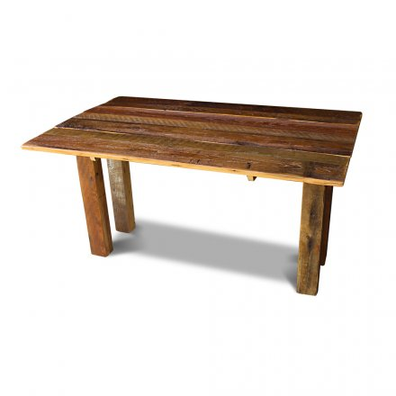 Barnwood Drop Leaf Table