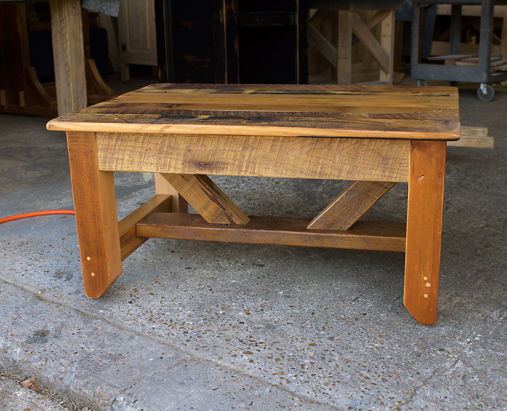 Industrial Timber Coffee Table