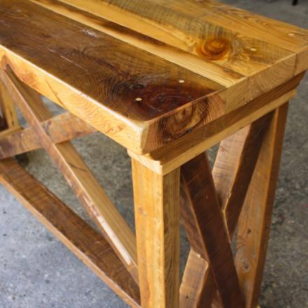Vintage X Barnwood Server / Sofa Table