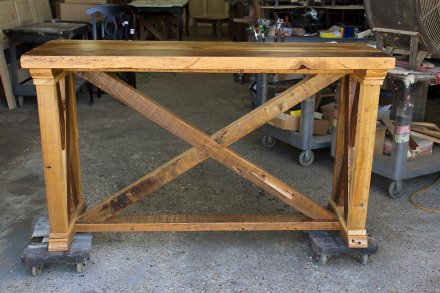 Vintage X Barnwood Server / Sofa Table