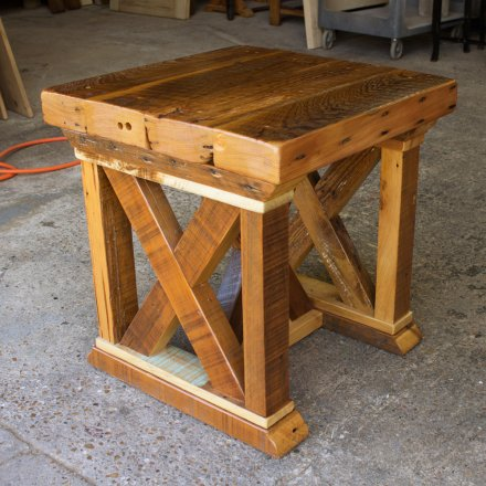 Vintage X End Table 3