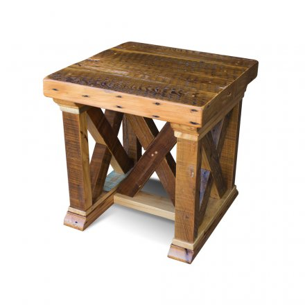 Vintage X End Table