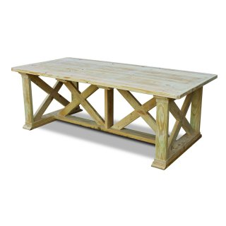 Vintage X Outdoor Table