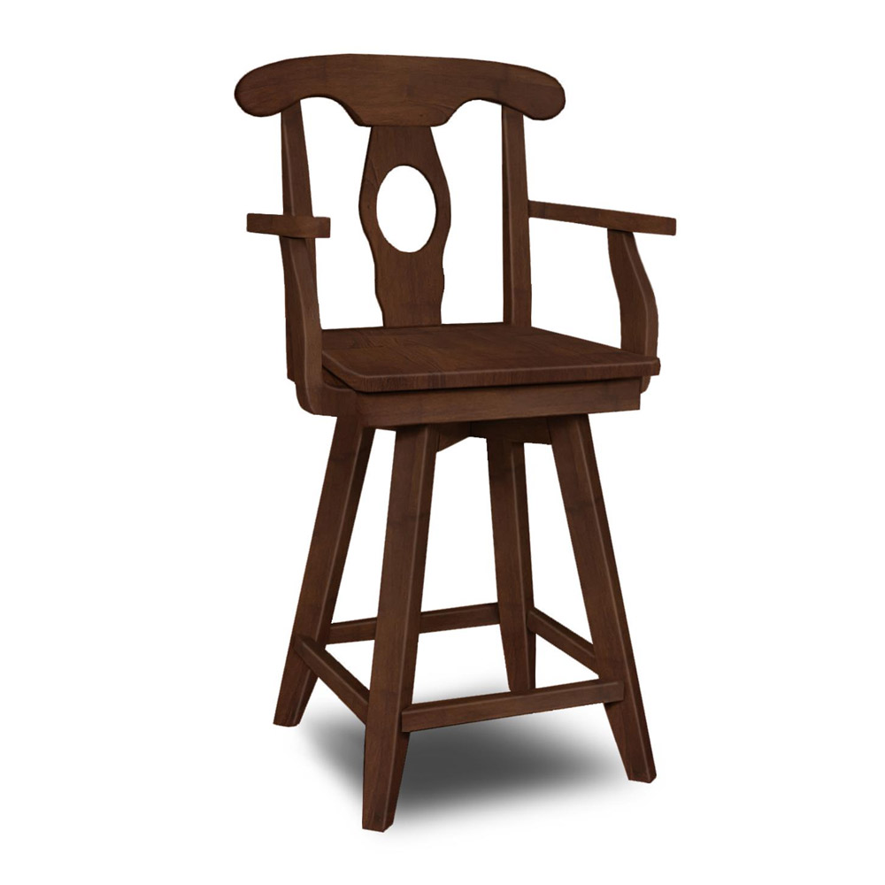 Empire Swivel Arm Stool S 122swab
