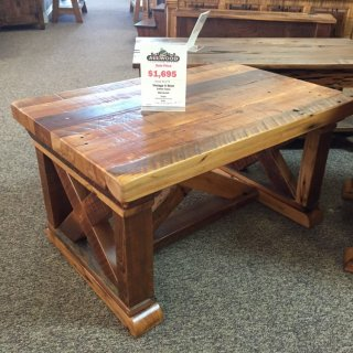 Vintage X Coffee Table @ Baton Rouge BR-177 SOLD