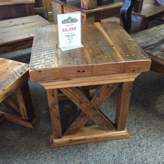 Vintage X Side Table @ Baton Rouge BR-178 In Stock