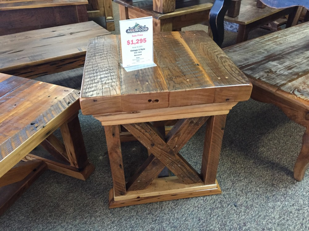 Vintage X Side Table Baton Rouge Br 178 In Stock All