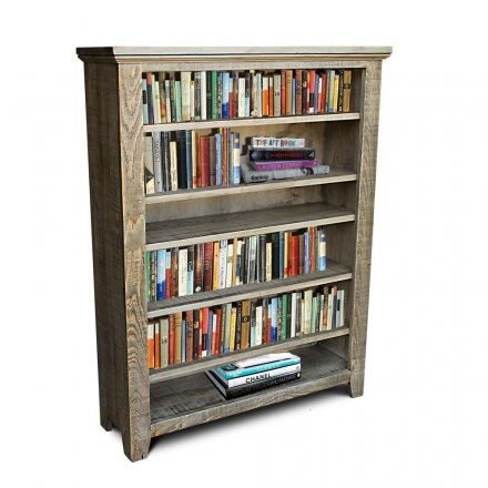 Rustic Shaker Rod1 Bookcase
