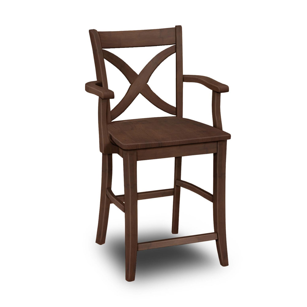 Vineyard Arm Stool S 142ab