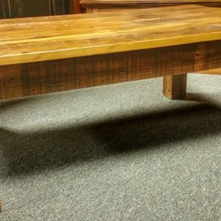 Barnwood Beam Leg Coffee Table Ul Store Ul 161 Sold
