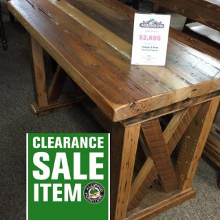 Vintage X Desk @ Baton Rouge BR-181 In Stock