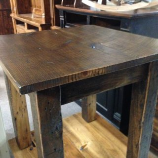 Barnwood Endtable @ Pinhook PH-82 In Stock