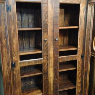 Rustic Empire Display Cabinet @ Pinhook PH-84 In Stock