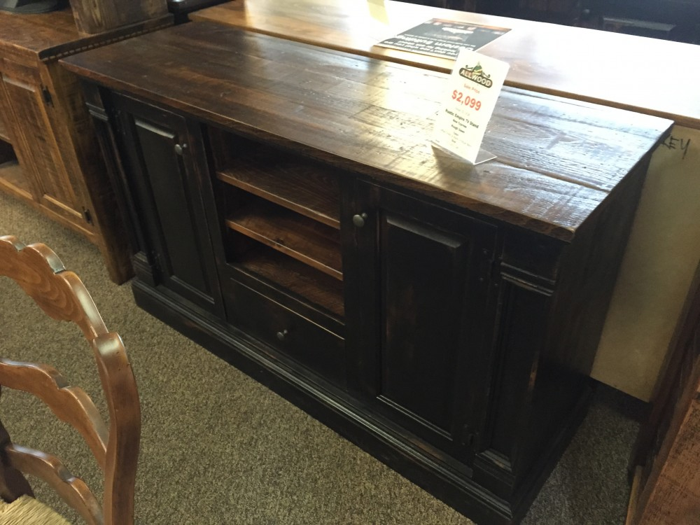 Rustic Empire Tv Stand Baton Rouge Br 184 Sold All
