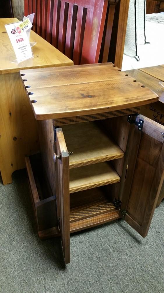 Fishing Rod Holder Ul Store Ul 60 In Stock All Wood Furniture