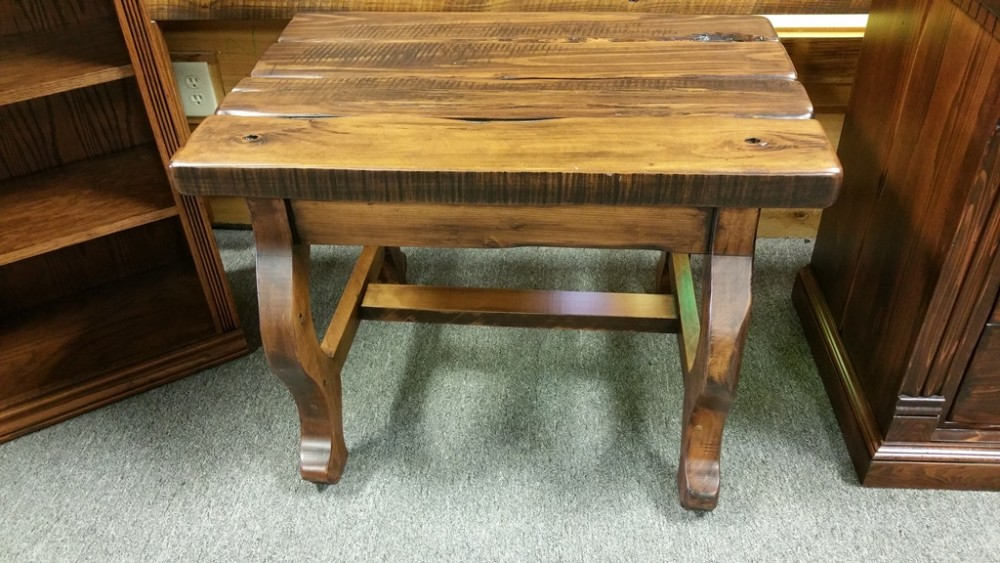 Ranch Style Coffee Table UL Store UL In Stock ALL Wood Furniture - Ranch style table