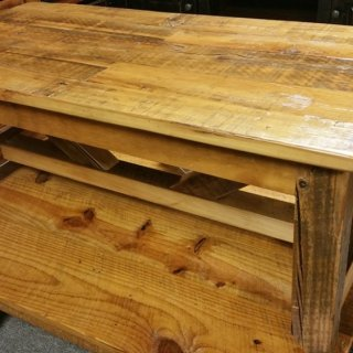 Industrial Timber Coffee Table Ul Store Ul 128 In Stock