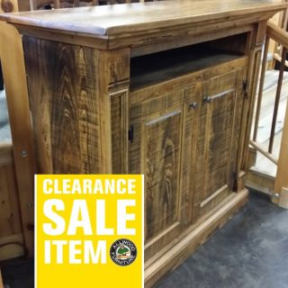 Rustic Empire T.V. Stand @ UL Store UL-44 In Stock