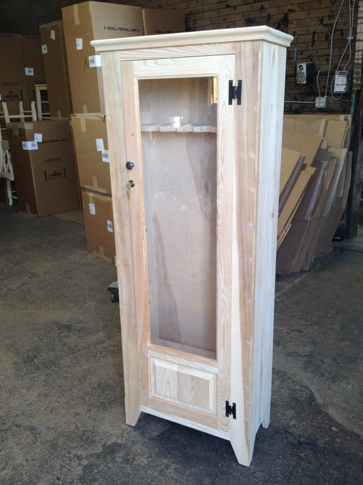 Stock On Gun Cabinet 6 Gun Cabinet Ul Store Ul 131 In Stock All Wood Furniture