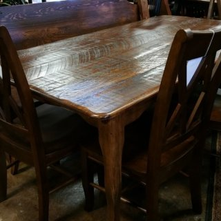 6′ Creole Leg Table @ UL Store UL-108 SOLD