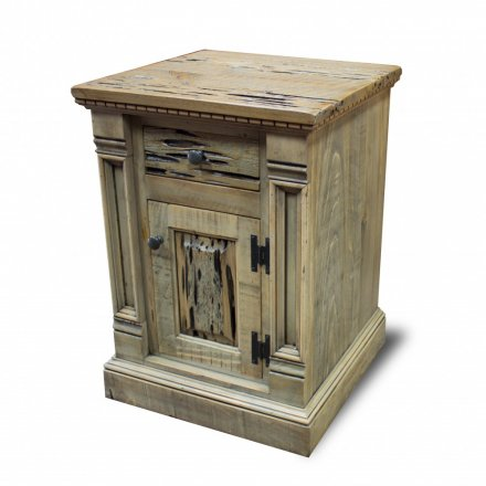 Rustic Empire Night Stand / End Table
