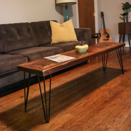 Midcity Modern Pin Leg Coffee Table