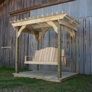 Mini Pergola w Creole Swing