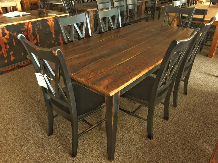 Barnwood Shaker Table Baton Rouge Br 189 Sold All Wood Furniture