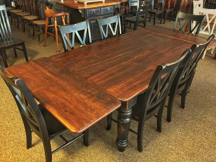 Colonial Company Board Table Baton Rouge Br 190 Sold All Wood Furniture