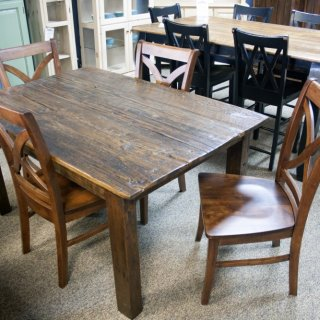 4 X 4 Beam Leg Table @ Baton Rouge BR-201 SOLD