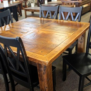Window Frame Barnwood Table @ Baton Rouge BR-196 SOLD