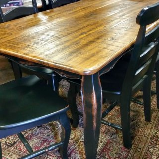 6′ Beaded French Table @UL Store UL-148 In Stock