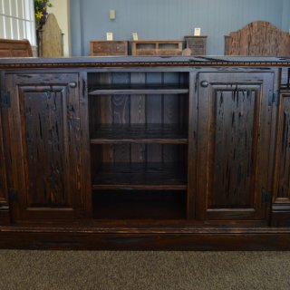 Barnwood Pecky Entertainment Center @ Baton Rouge BR-207 SOLD