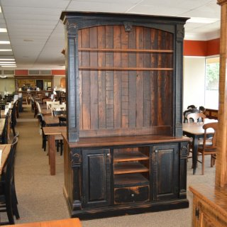 Fleur De Lis 2 Piece Entertainment Center @ Baton Rouge BR-211 SOLD