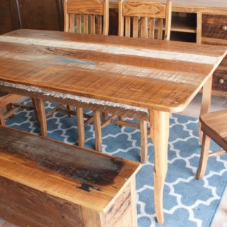 Creole Barnwood Table @ Baton Rouge BR-202 SOLD