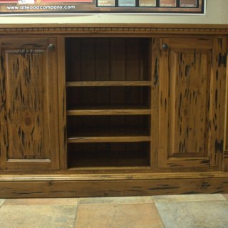 Pecky Rustic Empire Entertainment Center @ Baton Rouge BR-205 SOLD