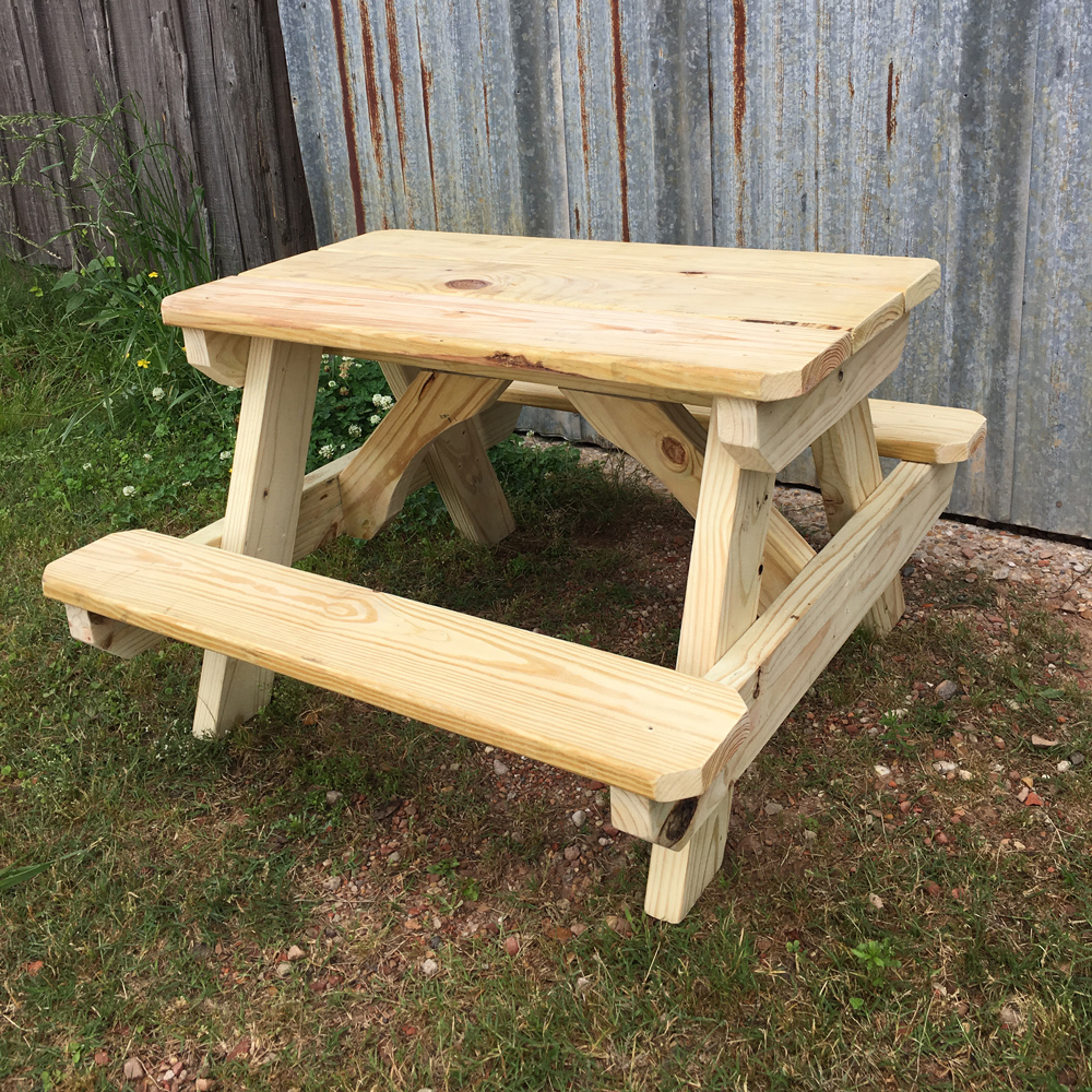 Small Childs Picnic Table