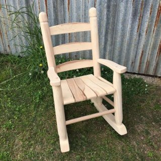 Tennessee Youth Oak Rocker