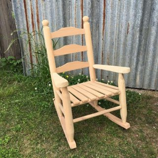 Youth Oak Rocker