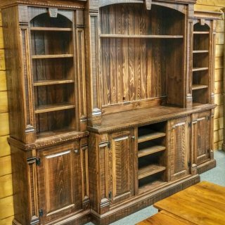 Rustic Empire 4 Pc Wall Unit @UL Store UL-157 In Stock