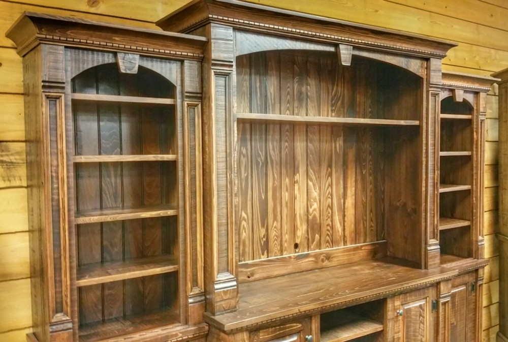 Rustic Empire 4 Pc Wall Unit Ul Store Ul 157 In Stock